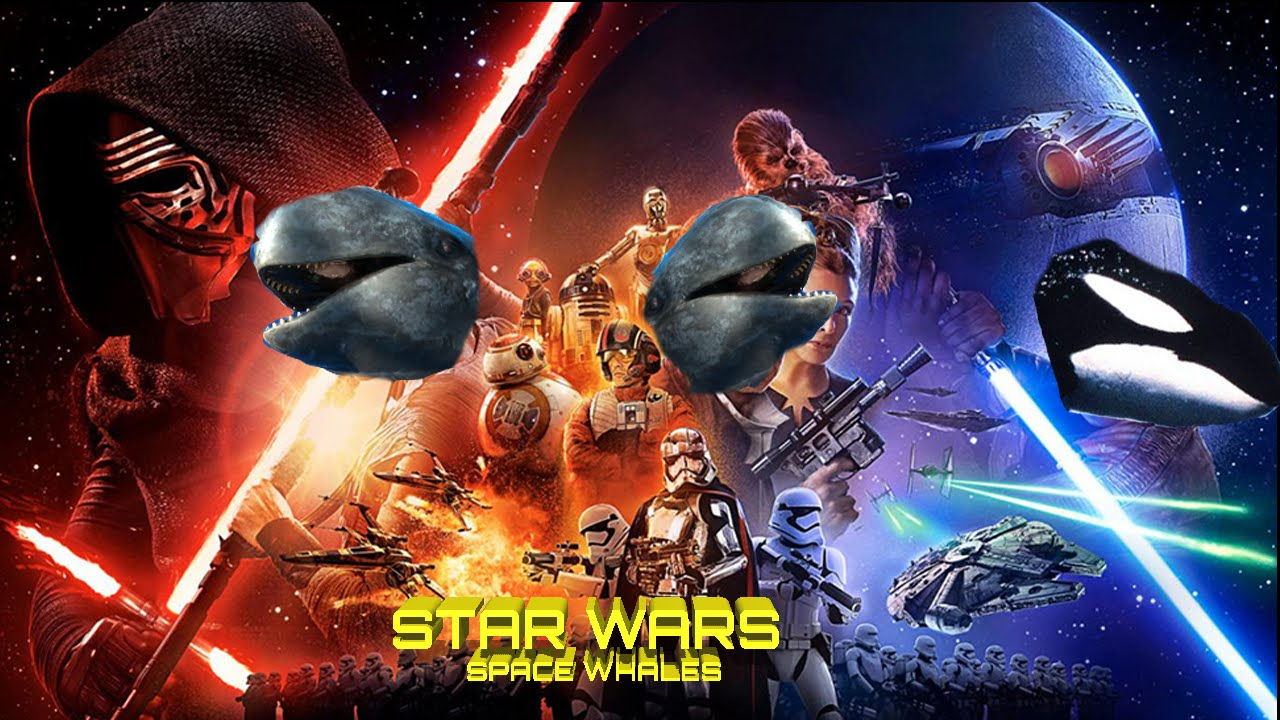 Space Whales Star Wars L Twobuttonspaceadventure Youtube