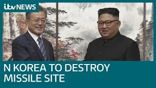 North Korea agrees to dismantle main nuclear site | ITV News