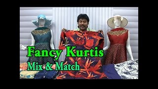 Fancy Kurtis Mix & Match / M,L,XL,XXL Sizes / Pongal Collections