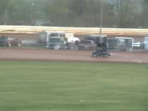 Selinsgrove Raceway Park Hot Laps Mic 5 1 09