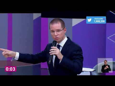 """Le llueve a Anaya en debate: AMLO le dice """"Ricky Riquín canallín"""" y Meade lo tacha de """"cínico"""""""
