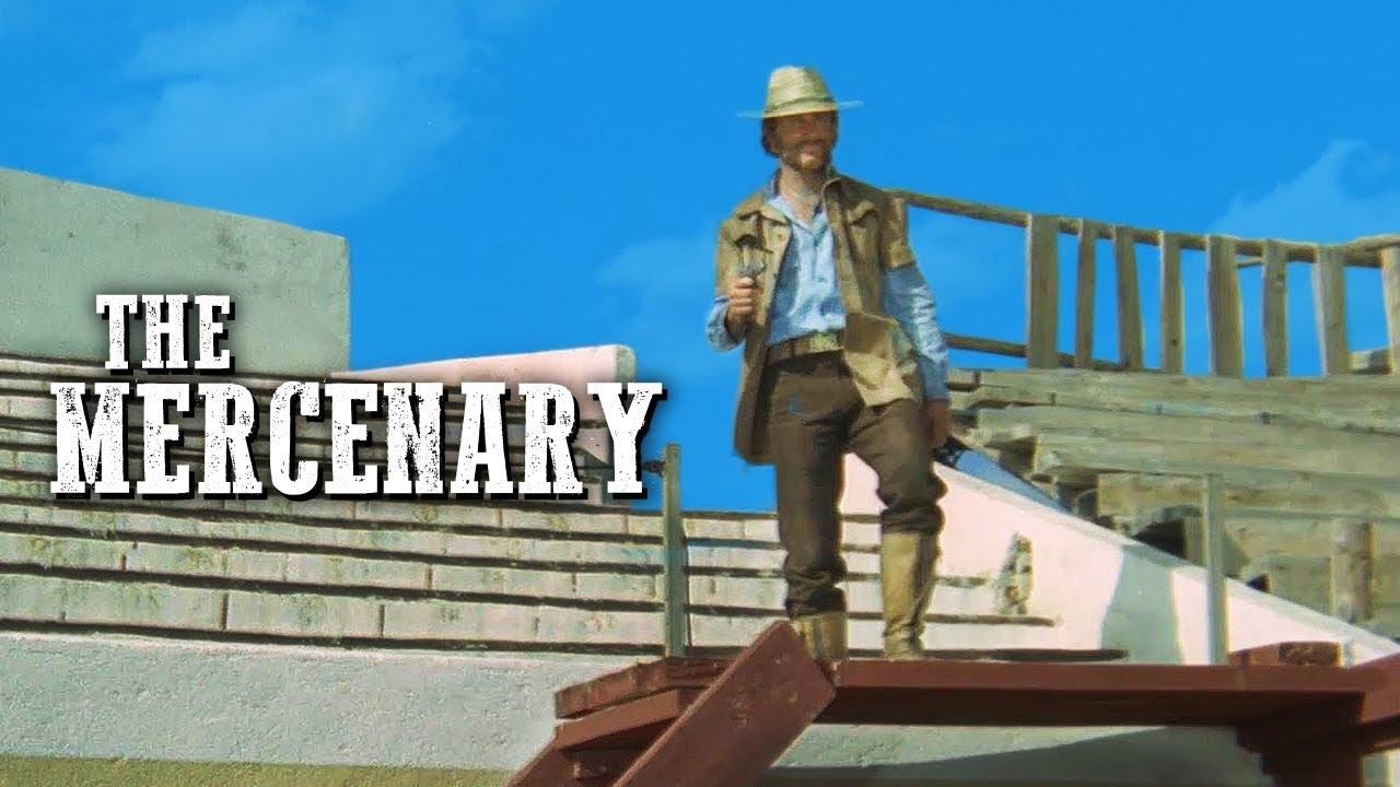 Download The Mercenary   Franco Nero   WESTERN MOVIE   Full Length   Cowboy Film   Full Movie