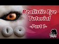 Creature Eye Tutorial -Part 1: How To Make Realistic Fake Eyes For Your Monster Cosplay