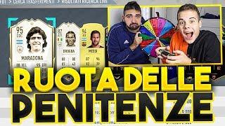 LA RUOTA delle PENITENZE su FIFA 20!!! - INDOVINA CHI | Enry Lazza vs Tatino