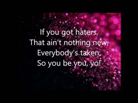 1 Girl Nation - Haters Lyrics Video