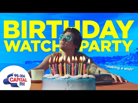 Harry Styles' Birthday Watch Party | Capital