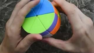 Как собрать круглый кубик рубик