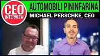 CEO Interview: Michael Perschke of Automobili Pininfarina