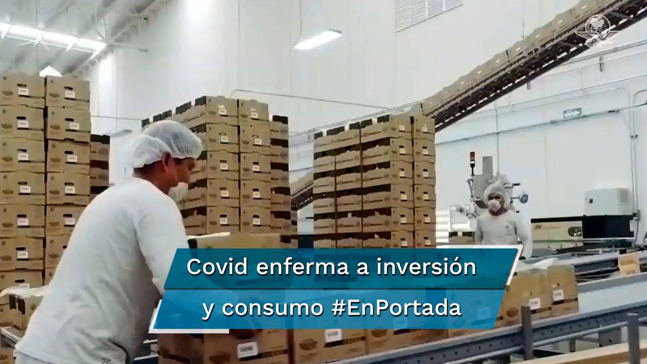 Inversión, alicaída; consumo, anémico #EnPortada