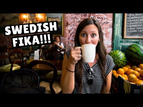 First Impressions of Stockholm | Swedish Meatballs & Fika!