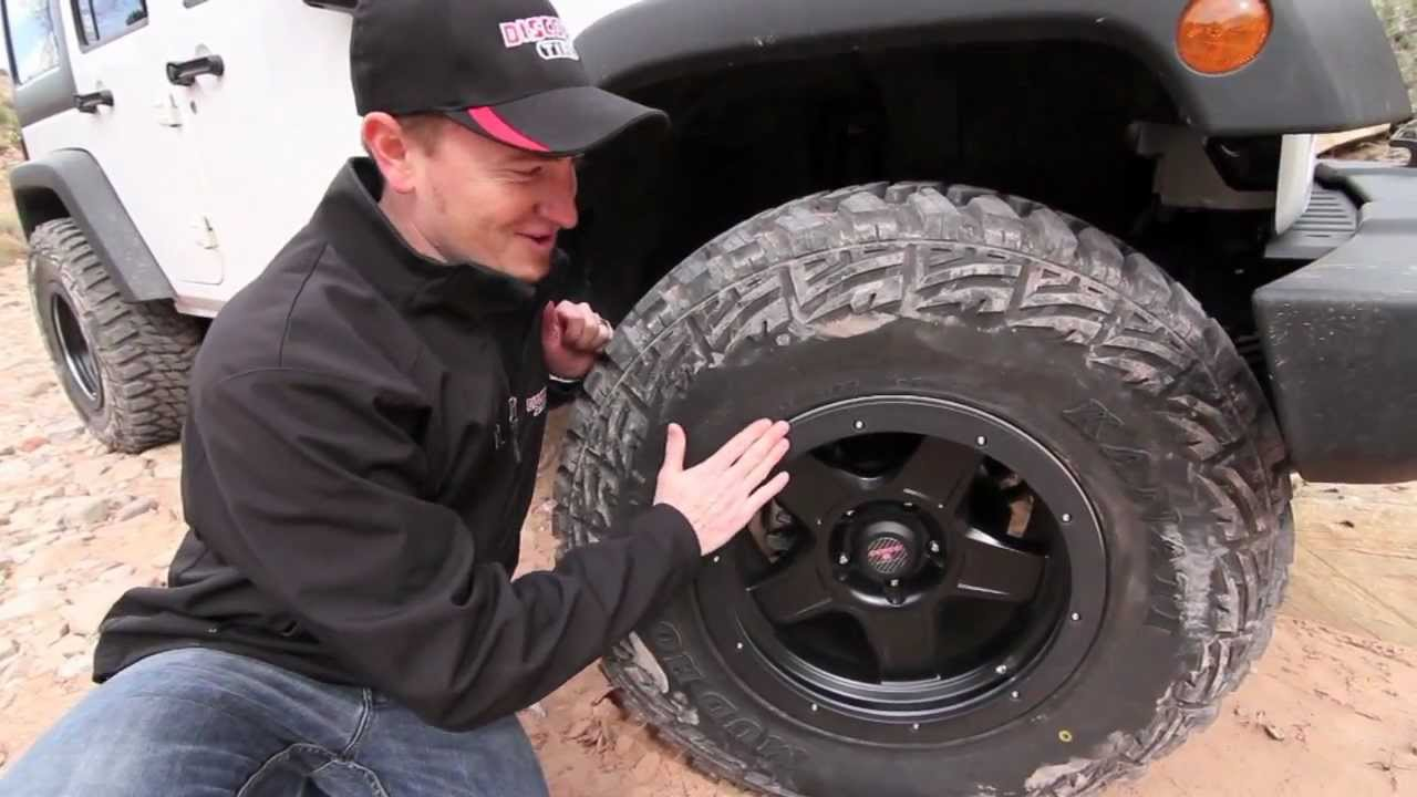 Kanati Mud Hog Tires and Level 8 ZX Wheels in Moab - YouTube
