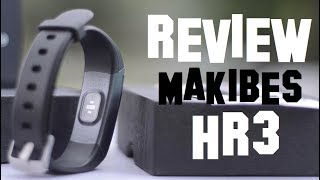 Baixar Pulsera Inteligente Makibes HR3 | Review Español Smart Wristband