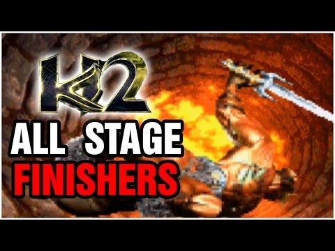 All Stage Finishers: Killer Instinct 2