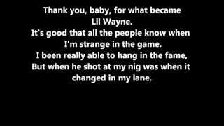 Lil Wayne Interlude Lyrics (On-Screen & Description)