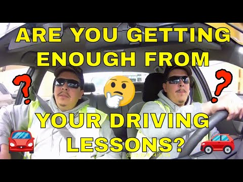 Talk to your Driving Instructor