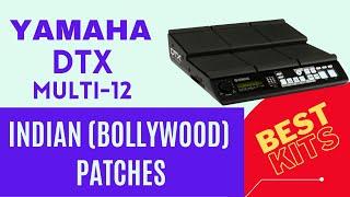 Yamaha DTX Multi 12   Indian   bollywood kits