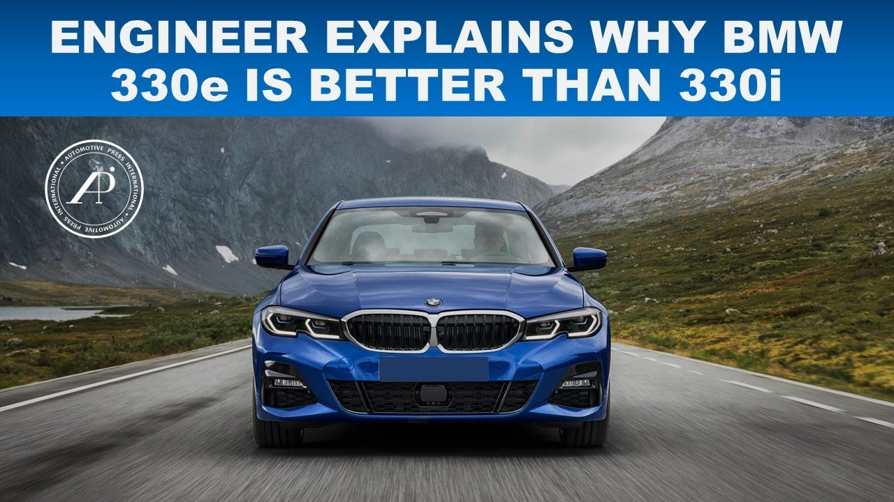 ENGINEER EXPLAINS WHY PLUG-IN-HYBRID 330e IS BETTER VALUE THAN GAS VERSION 330i