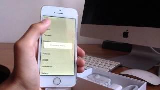 розпакування iPhone 5s Gold