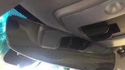 Frameless mirror retrofitted from new to old volvo   rain sensor issue found