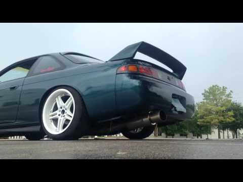 240sx 3 inch ebay exhaust with stock cat