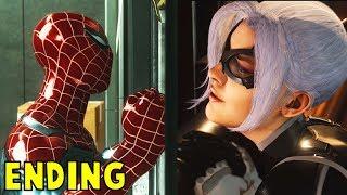 The Sad ENDING of Black Cat -The Heist DLC Black Cat-  Spider-Man PS4