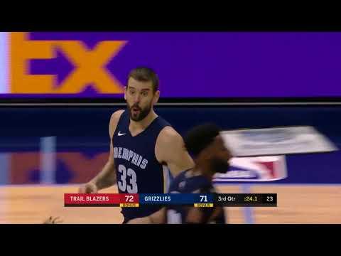 Portland Trail Blazers vs. Memphis Grizzlies - November 20, 2017