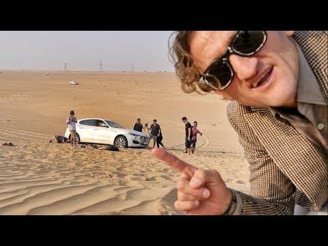 Download Youtube: Maserati Levante.. stuck in the sand