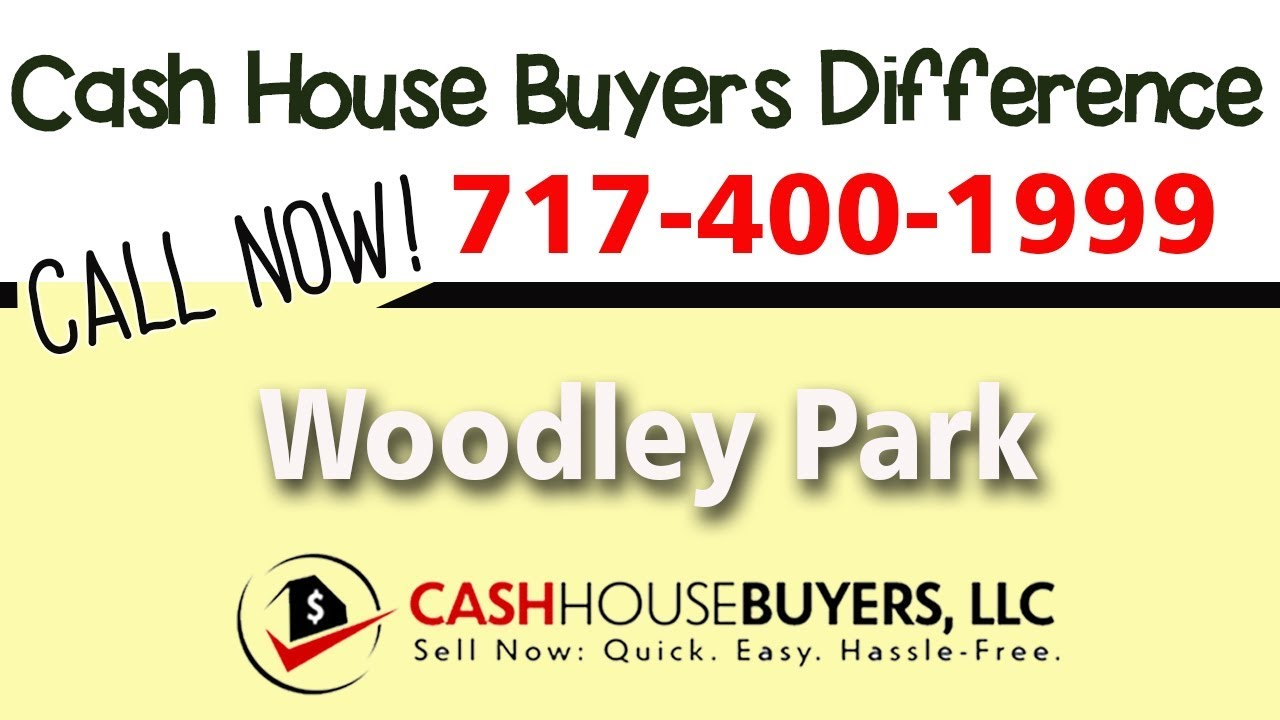 Cash House Buyers Difference in Woodley Park Washington DC   Call 7174001999   We Buy Houses