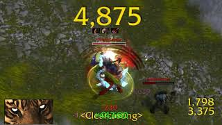 WoW Feral Druid PvP BfA 8.1 Random Battlegrounds and Arenas - Killing spree
