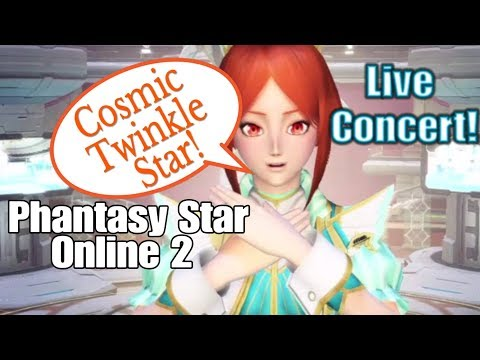 Cosmic Twinkle Star Song by Quna (Eri Kitamura) Live Concert PSO2 PS4/PC