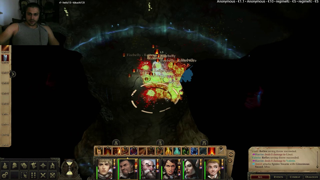 Pathfinder: Kingmaker - Spider Swarms - Caves - Fangberrie Cave Quest -  Fangberries