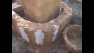Реактивная печь для сада и теплицы Поэтапное строительство