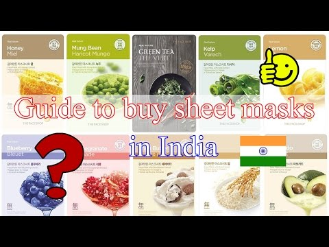 Guide to buy sheet masks in India | World's best Sheet masks
