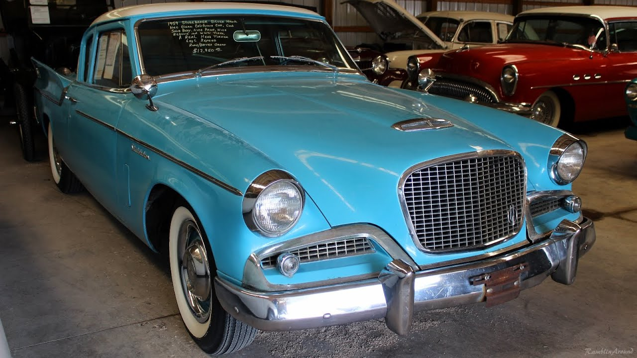 medium resolution of 1959 studebaker silver hawk at country classic cars