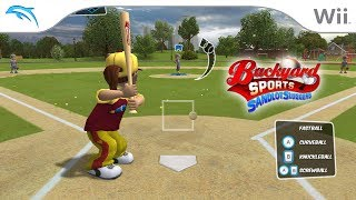 Backyard Sports: Sandlot Sluggers | Dolphin Emulator 5.0-8533 [1080p HD] | Nintendo Wii