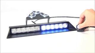 Strobes N' More D12 Synchronizable Dash Light