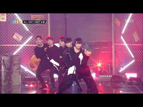 더 유닛 The Unit - 남성미 물씬 유닛 노랑의 'All Day'.20180113