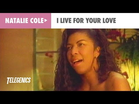 Natalie Cole - I Live For Your Love (Official Music Video)