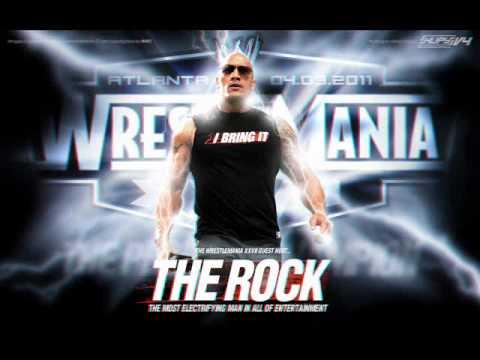 WWE - The Rock Theme song  (Speed Up)