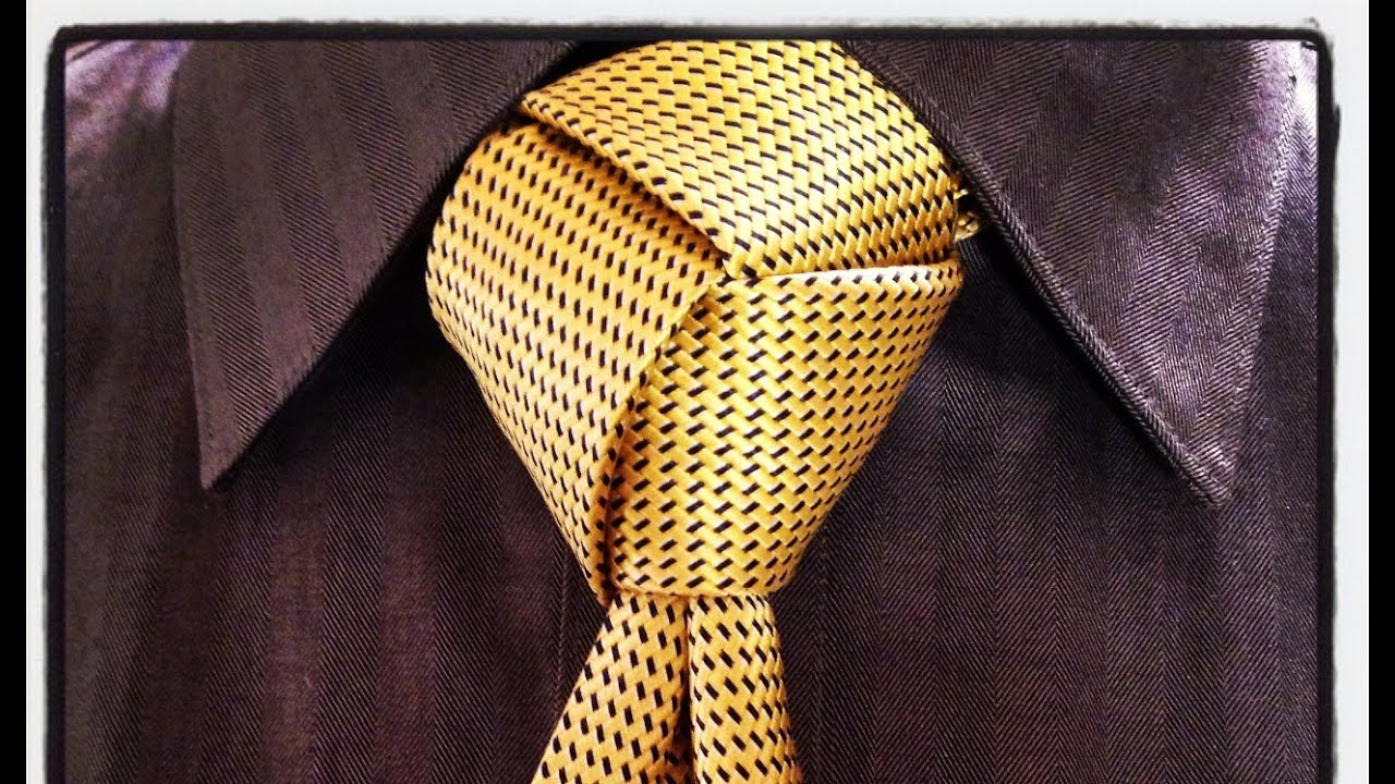 Tie Scarf And Shawl Erieairfair Balthus Knot How To A Necktie Agreeordie The Trinity Step By Instructions