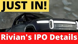 JUST IN! Tesla Rival Rivian Files for IPO - Date, Valuation and Price