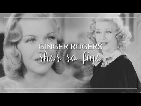 Ginger Rogers | She's So Fine