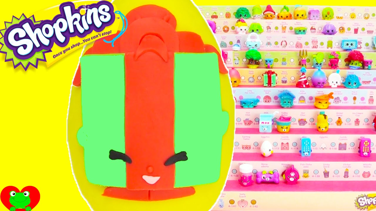 Shopkins Season 4 Miss Pressy Play Doh Surprise Egg And Limited Edition Hunt Youtube