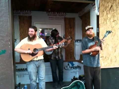 Nashville Bluegrass street musicians