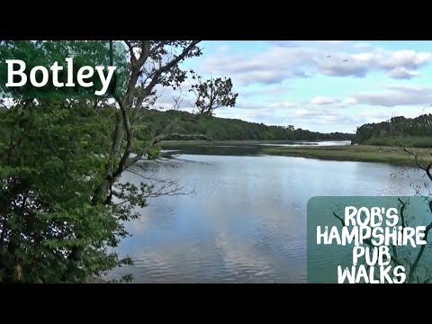 Manor Farm Country Park, Botley (The Dolphin And River Hamble Loop) 4.5 Miles Approx