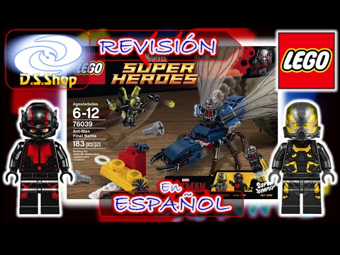 Juguetes LEGO Marvel AntMan Final Battle Review Set 76039 Super