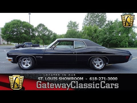 1970 Pontiac Catalina Stock #7753 Gateway Classic Cars St. Louis Showroom