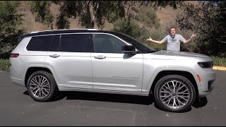 homepage tile video photo for The 2021 Jeep Grand Cherokee L Is a New and Much Improved SUV