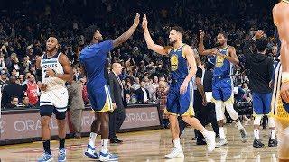 Verizon Game Rewind: Warriors 116 -  Timberwolves 108