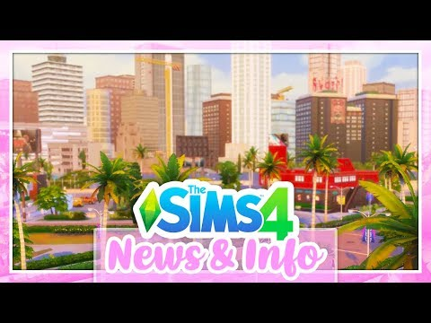EXPLANATION ON THE SIZE OF DEL SOL VALLEY⭐ // THE SIMS 4 GET FAMOUS | NEWS & INFO thumbnail